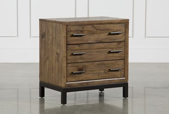 """Foundry 29"""" Nightstand With USB"""