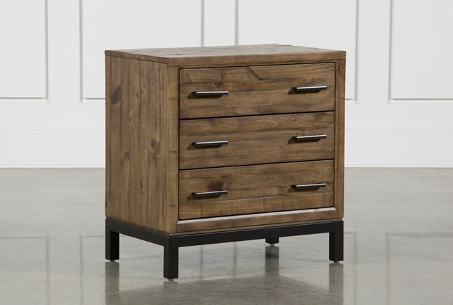 """Foundry 29"""" Nightstand With USB - 360"""