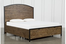 Foundry Queen Panel Bed With Storage