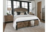 Foundry Queen Panel Bed With Storage - Room