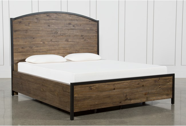 Foundry Queen Panel Bed - 360