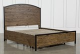 Foundry Eastern King Panel Bed With Storage - Left