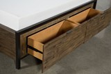Foundry Eastern King Panel Bed With Storage - Top