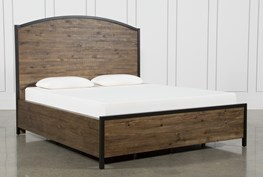 Foundry Eastern King Panel Bed