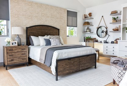 Foundry California King Storage 3 Piece Bedroom Set Living Spaces