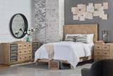 Magnolia Home Herringbone Queen Panel Bed By Joanna Gaines - Room