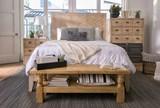 Magnolia Home Herringbone Eastern King Panel Bed By Joanna Gaines - Room