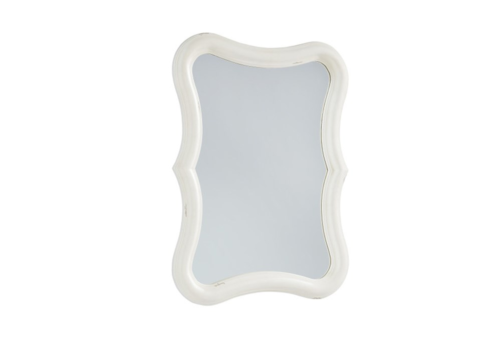 Magnolia Home Silhouette White Mirror By Joanna Gaines