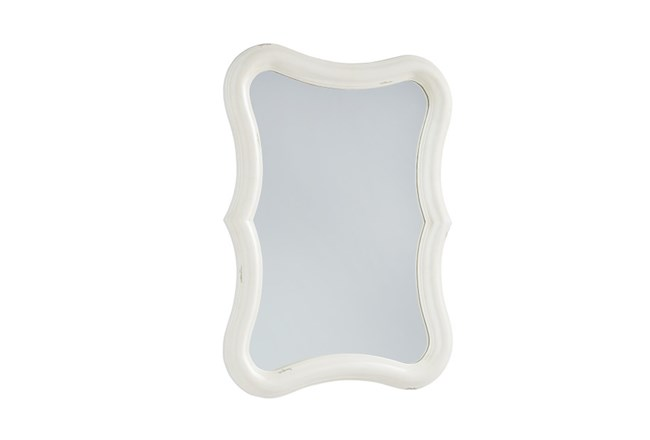 Magnolia Home Silhouette White Mirror By Joanna Gaines - 360