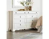 Magnolia Home Silhouette White Dresser By Joanna Gaines - Room