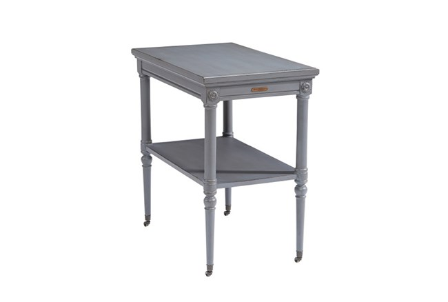 Magnolia Home Petite Rosette French Grey Accent Table By Joanna Gaines - 360