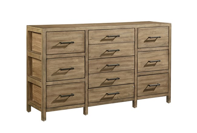 Magnolia Home Scaffold 11 Drawer Dresser By Joanna Gaines - 360