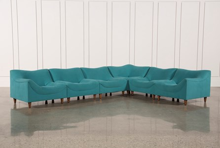 Justina Blakeney Tufo 6 Piece Sectional