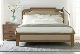 Magnolia Home Stratum California King Panel Bed By Joanna Gaines - Room