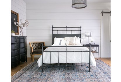 Magnolia Home Trellis Queen Panel Bed By Joanna Gaines Living Spaces
