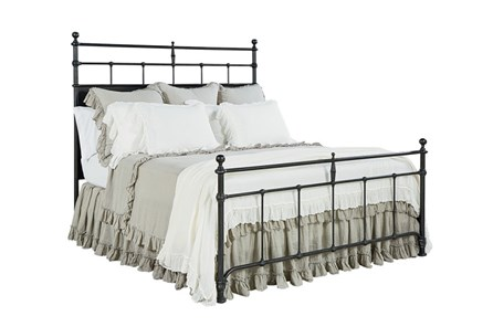 Magnolia Home Trellis Eastern King Panel Bed By Joanna Gaines - Main