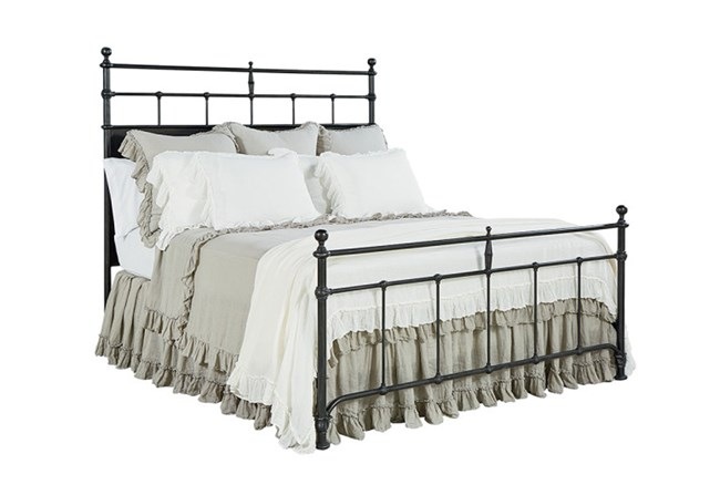 Magnolia Home Trellis California King Panel Bed By Joanna Gaines - 360
