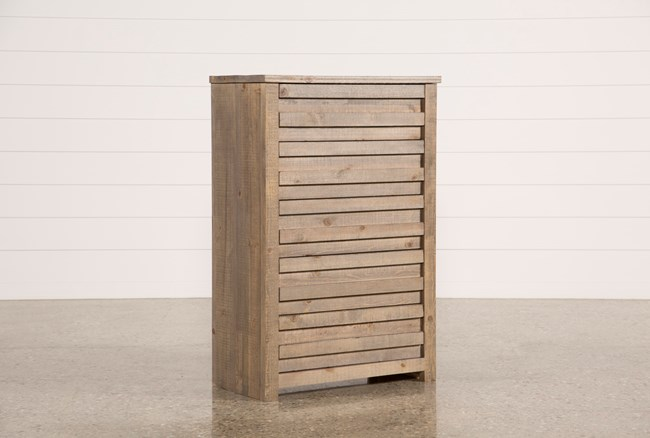 Sawyer Grey Chest Of Drawers - 360