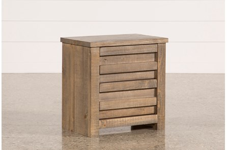 Sawyer Grey Nightstand - Main