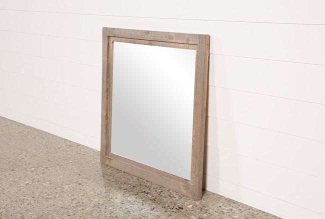 Sawyer Grey Mirror - 360