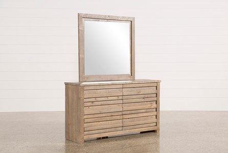 Sawyer Grey Dresser/Mirror