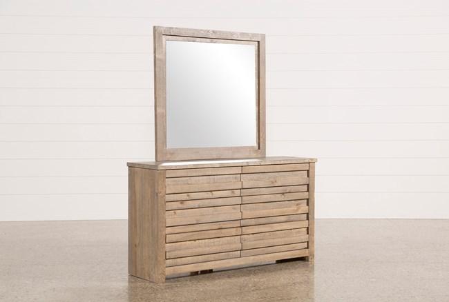 Sawyer Grey Dresser/Mirror - 360