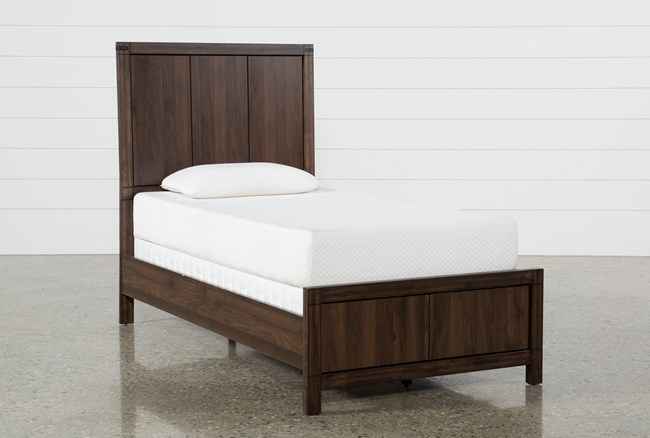 Willow Creek Twin Panel Bed - 360