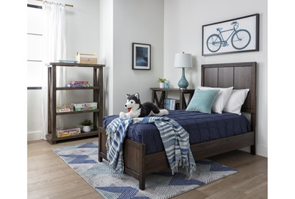 Willow Creek Twin Panel Bed Living Spaces