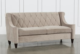 Platinum Diamond Tufted Sofa