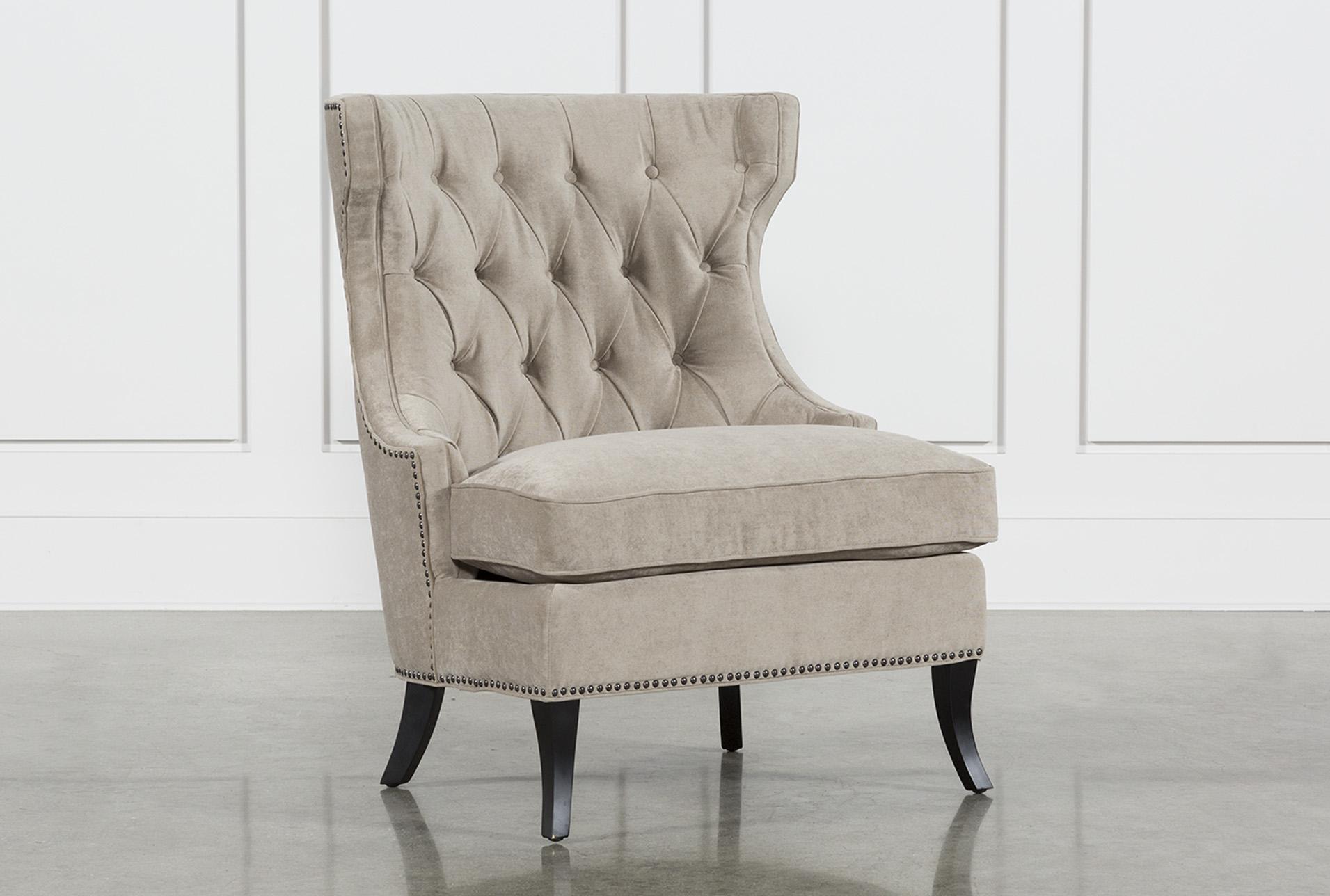 Platinum Tufted Lounge Chair   360 Elements
