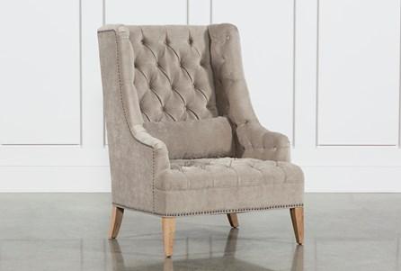 Platinum Tufted Chair