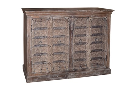 Reclaimed Wood 2 Door Cabinet - Main