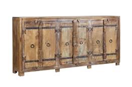 Reclaimed Wood 3 Door Cabinet