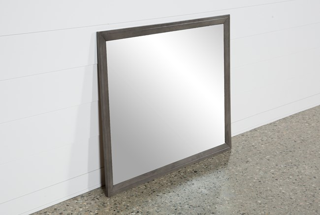 Chad Grey Mirror - 360