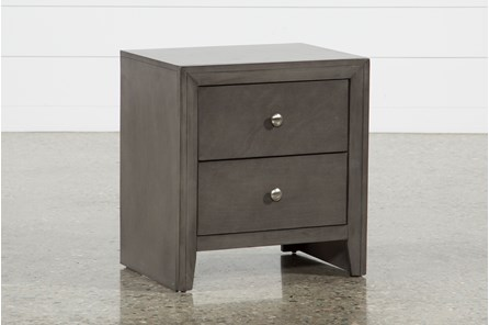Chad Grey Nightstand - Main