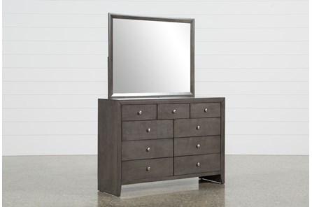 Chad Grey Dresser/Mirror