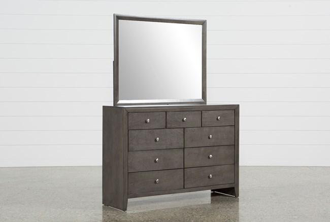 Chad Grey Dresser/Mirror - 360