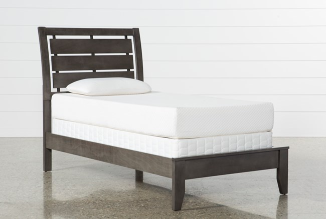Chad Grey Twin Panel Bed - 360
