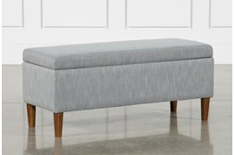 Dean Charcoal Storage Bench