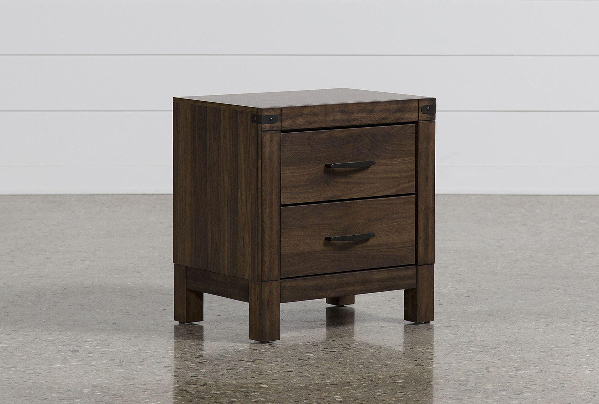 Willow Creek II 2 Drawer Nightstand   360