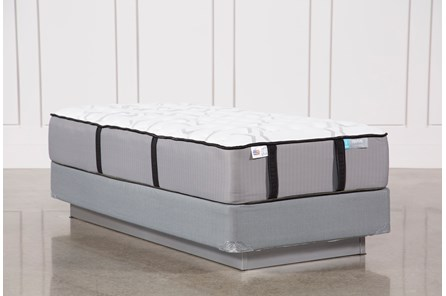 Gel Springs Firm Twin Mattress W/Foundation - Main