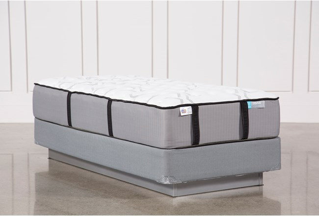Kit-Revive Gel Springs Firm Twin Mattress W/Foundation - 360