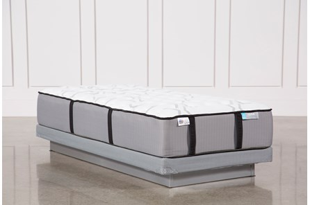 Gel Springs Firm Twin Mattress W/Low Profile Foundation - Main
