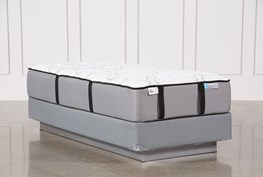 Gel Springs Firm Twin Extra Long Mattress W/Foundation