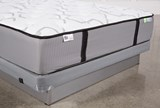 Gel Springs Firm Full Mattress W/Low Profile Foundation - Top