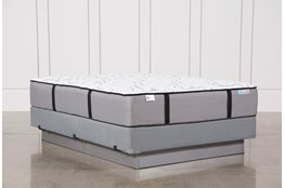 Gel Springs Firm Queen Mattress W/ Foundation