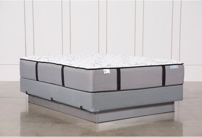 Gel Springs Firm Queen Mattress W/ Foundation - 360