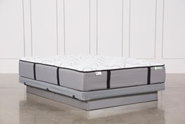 Revive Gel Springs Firm Queen Mattress W/Low Profile Foundation