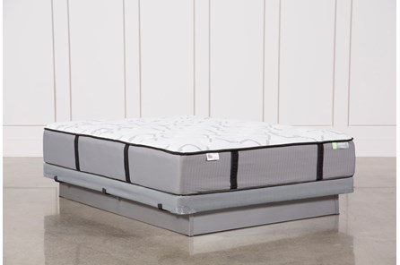 Gel Springs Firm Queen Mattress W/Low Profile Foundation - Main
