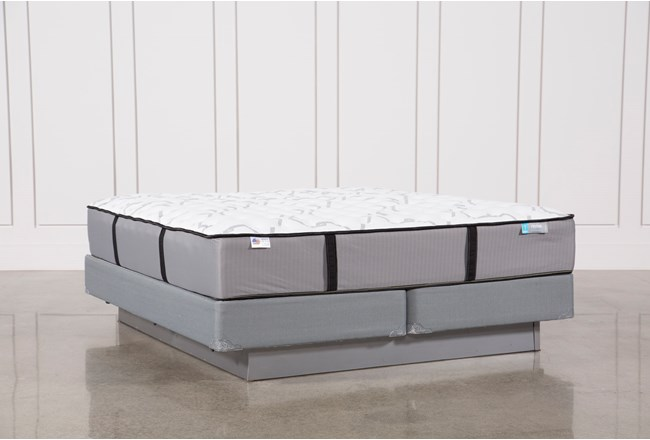 Gel Springs Firm Eastern King Mattress W/Foundation - 360